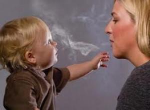 خطرات سیگار برای کودکان