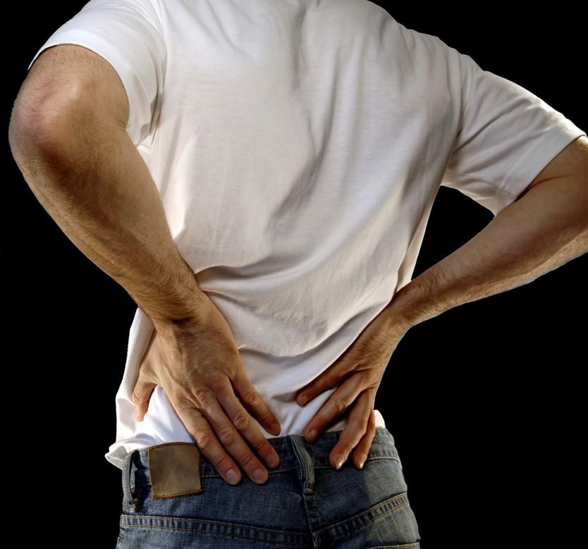 تسکین درد در قسمت پایینی کمر به روش های خانگی