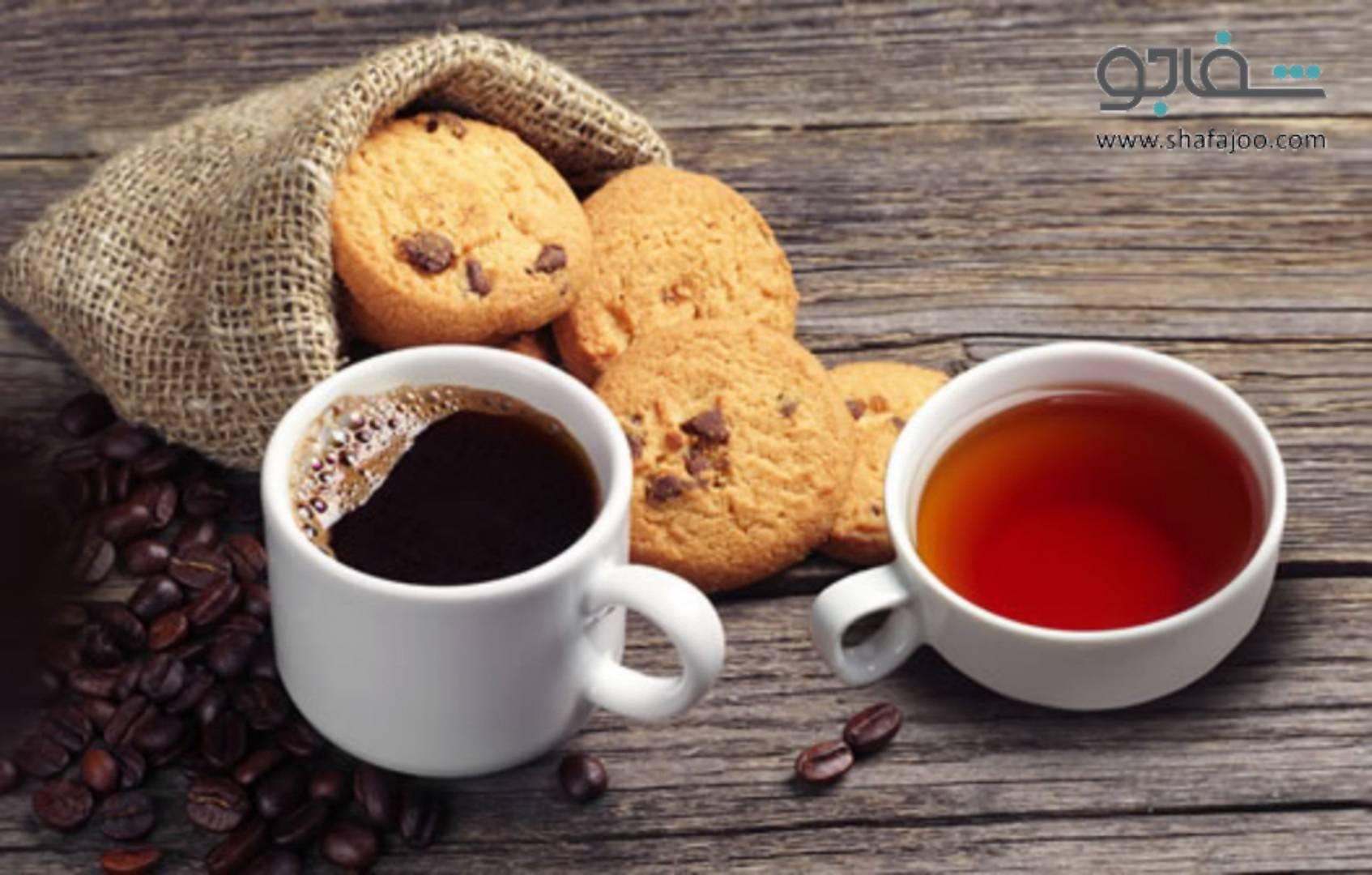 مقایسه کافئین چای با قهوه